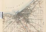 Map Of Wickliffe Ohio Cleveland Zip Code Map Elegant Ohio Historical topographic Maps