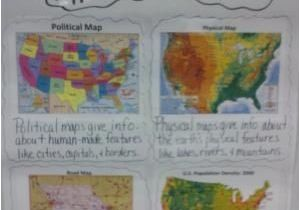 Map Of Willis Texas Types Of Maps Anchor Chart for Students to Refer to Helpful for Our