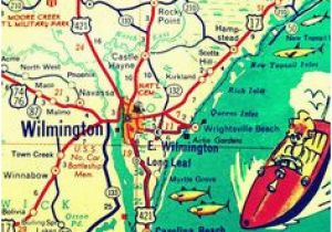 Map Of Wilmington north Carolina Mountains to sound Greenway I 90 Map America S byways