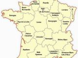 Map Of Wine Regions In France Regional Map Of France Europe Travel