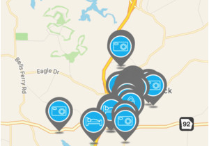 Map Of Woodstock Georgia Visit Woodstock On the App Store