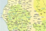 Map Of Yorkshire England with towns Lake District Map Maps Of Cumbria National Park