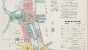 Map Of Ypsilanti Michigan Map 1800 to 1899 Michigan Library Of Congress