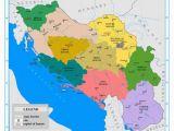 Map Of Yugoslavia In Europe the Nine Banates Banovinas Of the Kingdom Of Yugoslavia