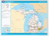 Map Of Zip Codes In Michigan File Map Of Michigan Na Png Wikimedia Commons