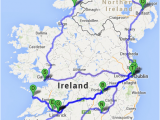 Map Off Ireland the Ultimate Irish Road Trip Guide How to See Ireland In 12 Days