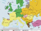 Map Og Europe Languages Of Europe Classification by Linguistic Family