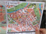Map Pamplona Spain Map Of Pamplona Showing Hostal Bearan Location Picture Of