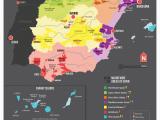 Map Pf Spain Map Of Spanish Wine Regions Via Reddit Spain Map Of Spain