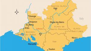Map Provence France Villages Travel Guide to France S Beloved Provence