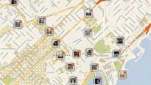 Map Salou Spain Barcelona Printable tourist Map Barcelona Barcelona Spanien
