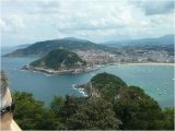 Map San Sebastian Spain Views Of San Sebastian From Mount Igueldo Picture Of Monte Igueldo