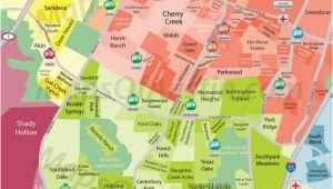 Map Seguin Texas south Austin Tx Neighborhood Map Austin Texas In 2019 Austin