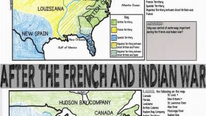 Map Sisters oregon French and Indian War Map Activity American Revolution Project