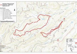 Map sonora California Creek Fire Maps Inciweb the Incident Information System