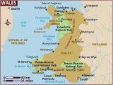 Map south East England Coast Map Of Wales