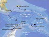 Map south Georgia island Vent Birding tours Antarctica south Georgia the Falklands Our
