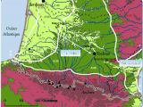 Map southwest France the southwest Of France with the Localization Of the Sample Sites