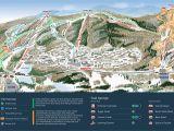 Map Telluride Colorado area Mountain Creek Resort Trail Map Onthesnow