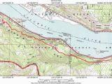 Map the Dalles oregon Mosier Twin Tunnels Hike Hiking In Portland oregon and Washington