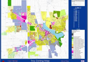 Map Troy Ohio City Of Troy