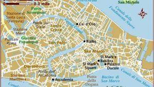 Map Venice Italy Surrounding area Map Of Venice