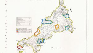 Maps Of Cornwall England Cornwall Main Page