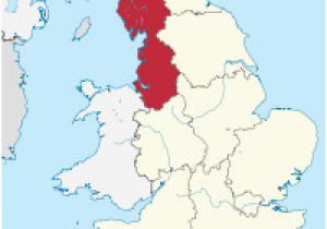 Maps Of England Counties north West England Wikipedia
