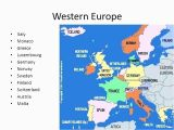Maps Of Europe with Capitals Map Europe Major Cities Pergoladach Co