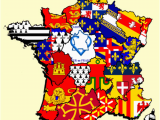 Maps Of France Regions French Regions Flag Map by Heersander Heritage France