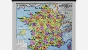 Maps Of France to Buy France Departements Vintage Map