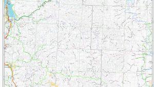 Maps Of oregon Cities Elevation Map oregon Secretmuseum