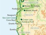 Maps Of oregon Coast Map oregon Pacific Coast oregon and the Pacific Coast From Seattle