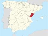 Maps Of Valencia Spain Province Of Castella N Wikipedia