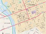 Marion north Carolina Map Downtown Columbia south Carolina Free Online Map