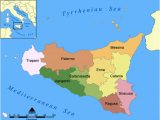 Marsala Italy Map A Snapshot Of Sicily Located In the Central Mediterranean Sea and