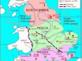 Mercia England Map as England Map northumbria