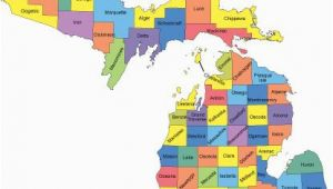 Metamora Michigan Map Michigan Map with Counties Big Michigan Love Michigan Map Guns