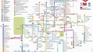 Metro Map Of Madrid Spain Madrid Metro Map Madrid Spain Mappery M A P D D D N D D