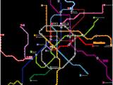 Metro Map Of Madrid Spain Madrid Metro Wikipedia