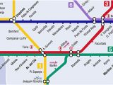 Metro Map Valencia Spain From the Valencia Airport Manises to the City Centre Bus