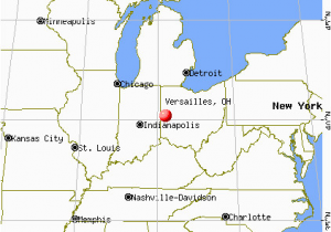 Miami Of Ohio Map Versailles Ohio Oh 45380 Profile Population Maps Real Estate