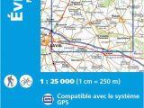 Michelin Maps Of France Ign 1518 Evron Montsa Rs Frankreich Wanderkarte 1 25 000