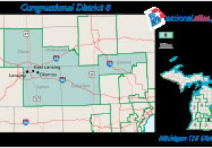 Michigan 8th Congressional District Map Michigan S 8th Congressional District Wikipedia