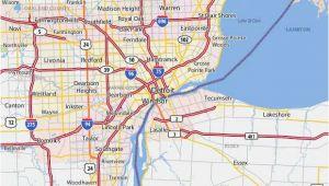 Michigan Airports Map Airports In Michigan Map Beautiful Michigan Maps Directions