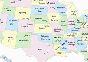 Michigan area Codes Map United States Map Showing Major Cities Best United States area Codes