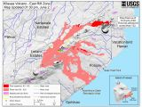 Michigan Burn Permit Map New Map Released Shows where Lava Crossed Hwy 132 Big island now