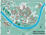 Michigan Central Campus Map Ohio U Campus Map Ohio University S athens Campus Map Secretmuseum