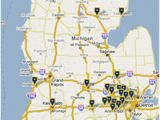 Michigan Colleges and Universities Map Maps Directions Michigan Medicine