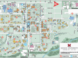 Michigan Colleges and Universities Map Oxford Campus Maps Miami University